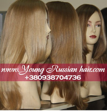 Silk top full lace wigs and glueless lace wigs sew in. Natural european hair, wholesale