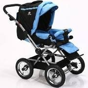 Baby strollers luxury aluminum 4 wheels stroller revolution two way sp