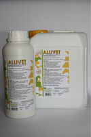 ALLIVET - LIQUID GARLIC supplement, 100% NATURAL, WATER-SOLUBLE FOR POULTRY, PIGS, CATTLE, RABBITS, FISH AND HORSES