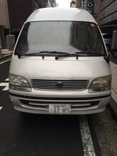 Japonais de haute qualité diesel passagers van turbo raisonnable prix utilisé toyota hiace à vendre made in japan KH-KZH120G
