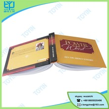 new design custom binding printing hard cover book