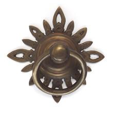 """Brass Ring tiradores-golden filigrana estrella 4-1 / 4 """""""