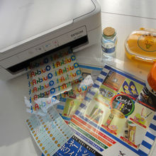 (Distributors agents required) Printable transparent kraft sticker film made in Japan for making own stickers