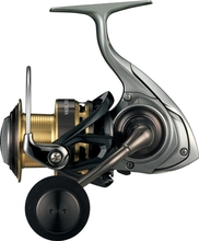 Perfect waterproof spinning fishing reel Daiwa with durable body built