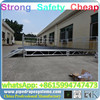 Aluminum stage with DJ booth,used stage for hot sale