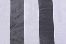 polyester taffeta stripy fabrics for drapery