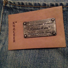 GARMENT LEATHER METAL LABELS PATCHES