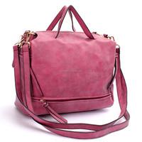 2015 Women Nubuck Pillow Handbags Soft PU Leather Shoulder Bags Crossbody Messenger Motorcycle Handbag Casual Tote Multi-colors