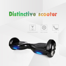 CE FCC RoHs MSDS Mini Smart Hoverboard Black Self Balancing Scooter 2-wheel