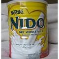 Nestle Nido de leche en polvo, Nestle Nido de secado instantáneo de leche entera