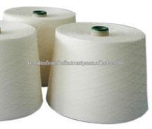 Materia prima de algodón blanco natural Nm 70/2 hilados peinados para <span class=keywords><strong>tejer</strong></span>