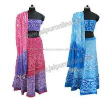 Women's Special dress for Navratri Nights - Bandhej Ghagra Choli Online