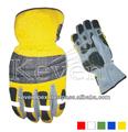 Calidad superior de nylon y cuero sintético rescate y extrication guantes