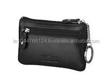 Fashion Faux Leather Coin Case / PU Leather coin purse / ladies mini black purse