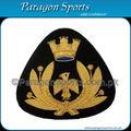 Insignias lingotes gorra bordada hechos a mano insignias PS-222