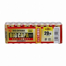 High specification AA type alkaline battery made by Iris Ohyama