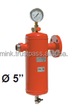 """LPG steel condensate tank 1""""1/2 - DN 50 - LPG reduction stations - MADE IN ITALY"""