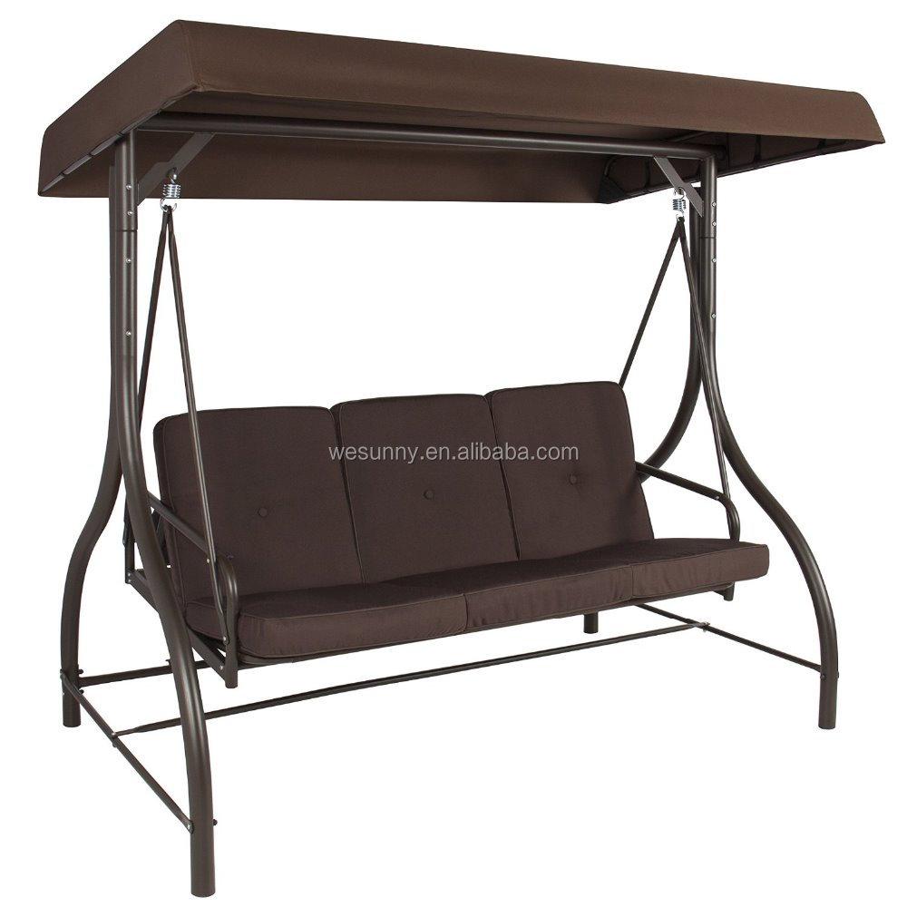 mejor convertir outdoor canopy columpio hamaca asientos patio muebles de terraza