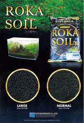 Live Fish Farm ROKA SOIL Black for Aquarium Plants
