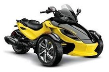 Factory price for 2014 Can Am Spyder Rs S Yellow Motorcycle