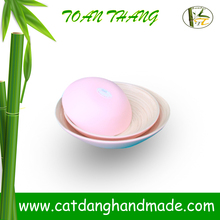 Vietnam bamboo bowl with unique design, set of 3 bamboo bowl (Skype: jendamy, whatsapp/viber: +84 914542499)