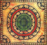 indian mandala , Elephant Tapestry Wall Hanging, Indian Bedspread Bohemian Room decor