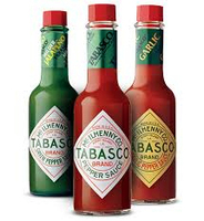 Tabasco Red Pepper and Jalapeno Sauce