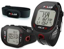 Polar RCX3 GPS Mens Multi Sports Watch Heart Rate Monitor Black Running Fitness