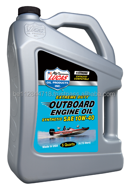 Lucas Outboard Synthetic Engine Oil Sae 10w40