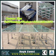High quality portable music stage portable stage system aluminium portable stage with steps manufactured in China factory
