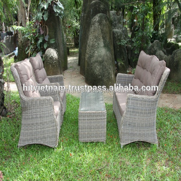 Wicker sofa furniture rattan chair vietnam manufacturer for Outdoor furniture vietnam