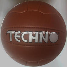 Retro ball,Antique ball.Artificial leather,18 panel
