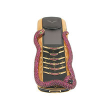Luxury phone made by gold & ruby stone