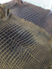 Genuine Crocodile Belly Skin Hide Two-Tone Color Grade A