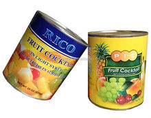 Canned Fruit Cocktail, Fruit Salad
