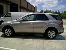 2007 LHD Mercedes ML350