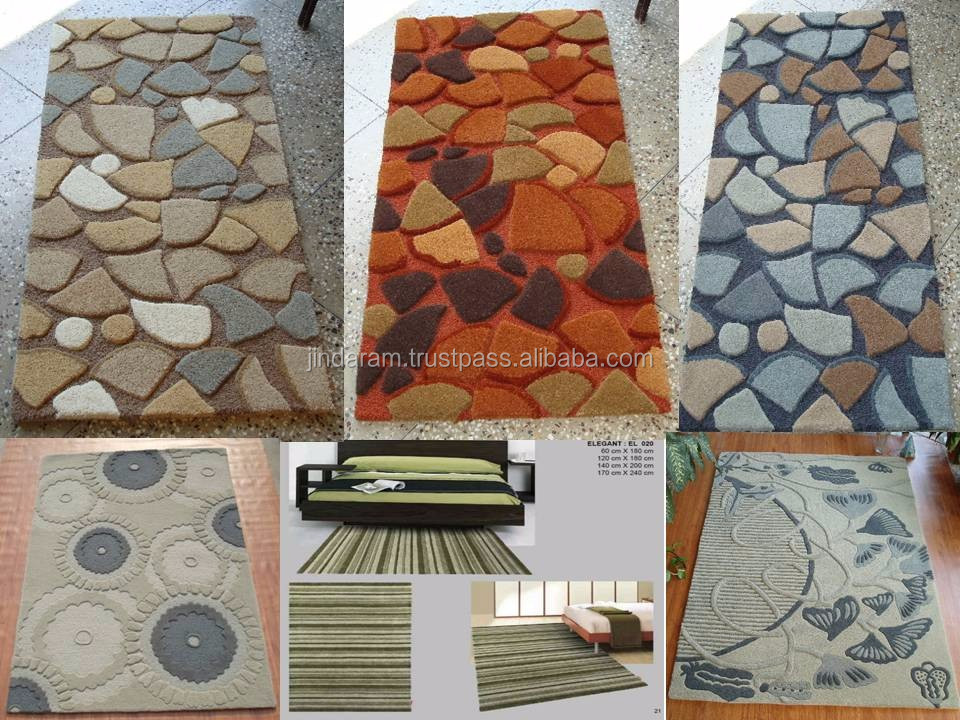 Decorative nylon cut pile carpets for hotels.JPG