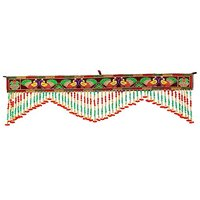 Indian Toran Door Valances Wall Hanging Beaded Door Hangings Decorative DV455A