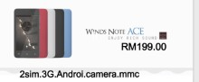 Winds Note Ace Smartphone