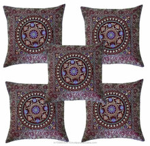 100% cotton /linen cushion cover ,handmade embroidery service for children pillows