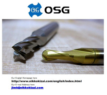Many kinds of cutting tools made in japan for OSG for mold for tablet parts for usa on alibaba at lower price with long life