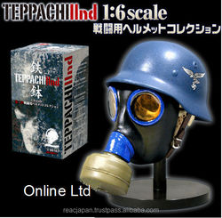 Teppachi 2nd Plastic toy miniature helmet 1:6 scale size collection
