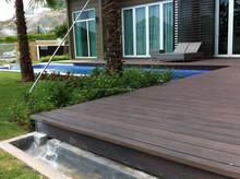 Timber Decking For Resort Villa