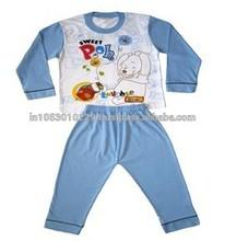 Niños pijama de algodón