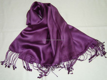 Viscose pashmina shawls/2012