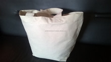 Durable Tote bag for various purpose. Unbleached cotton canvas tote bag