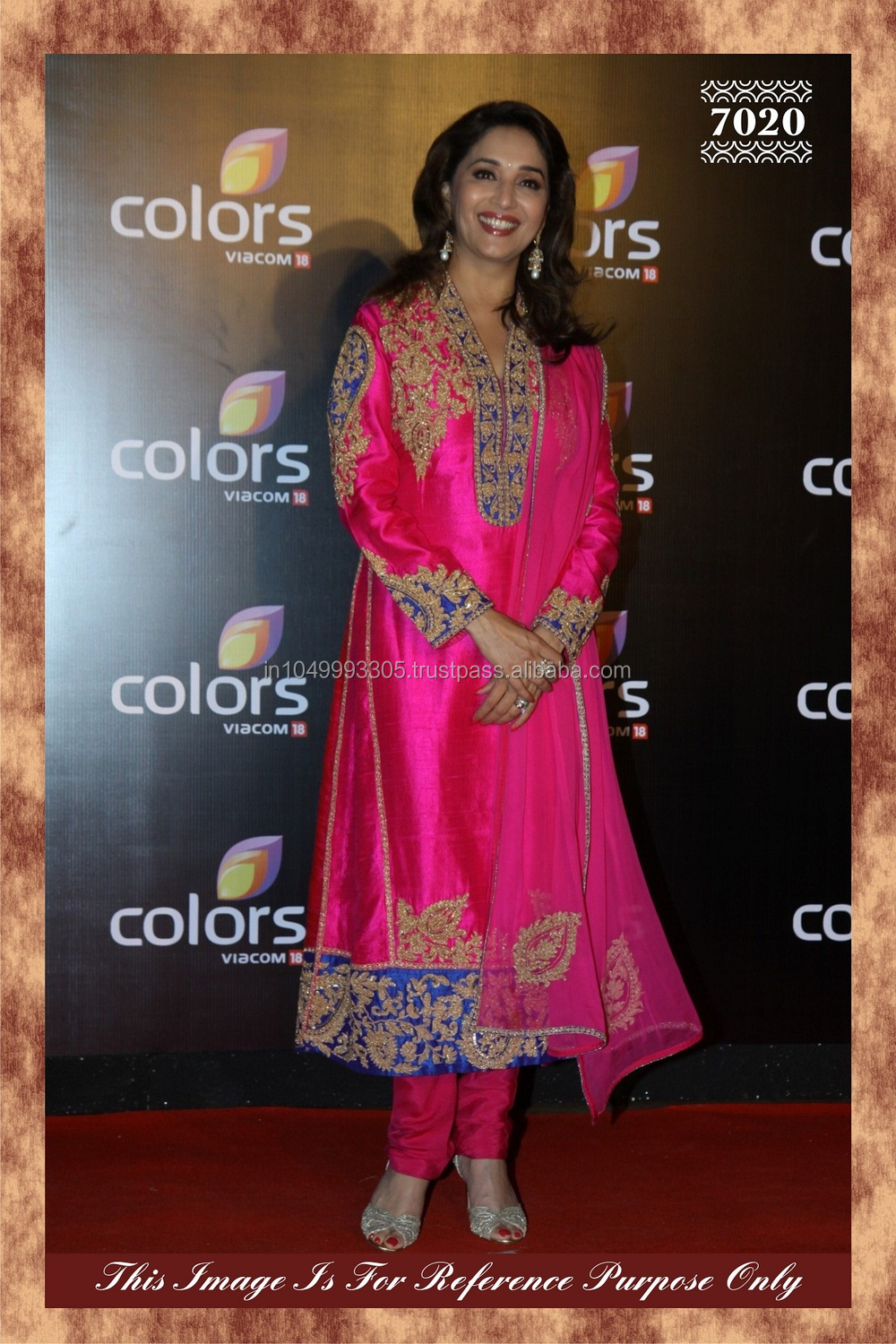 Colorful Indian Dresses Indian Latest Pink Color