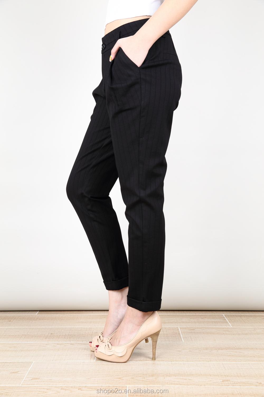 Cropped Dress Pants Women