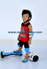 kids eletric gyro balance scooter with helmet knee and elbow pads
