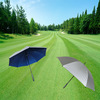 Durable easy grip advertising golf umbrella with your own logo printed